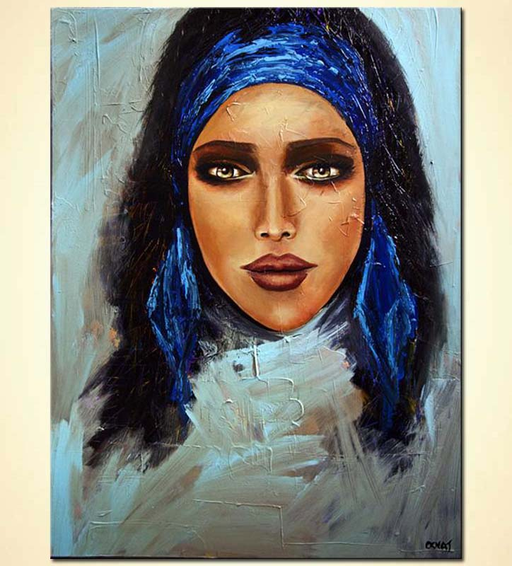 Painting for sale - painting of amazingly beautiful woman ...