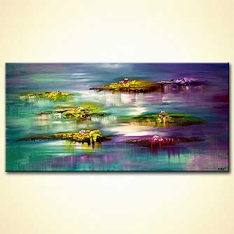 canvas print - Lilly Pads