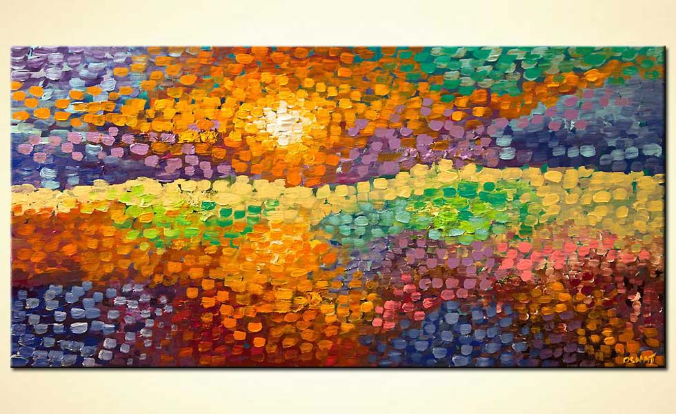 Landscape Abstract Canvas