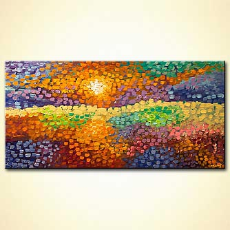 canvas print - Fields of Hope