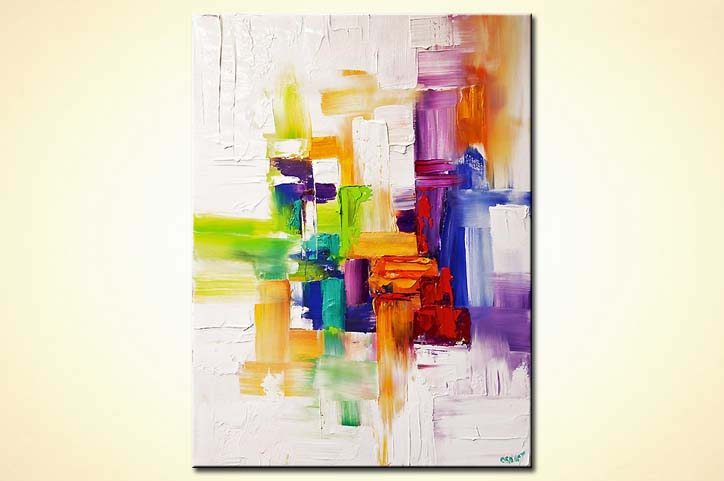 modern abstract art - Colorful Thoughts