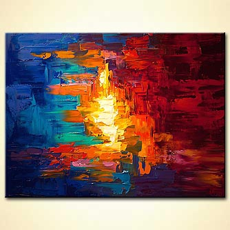 Abstract painting - The Light