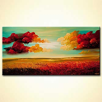 Landscape painting - Heavens Gate