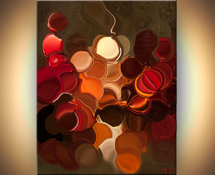 Modern Geometric Abstract Giclee Print