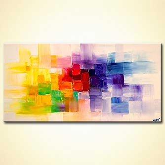 canvas print - Visual Thoughts