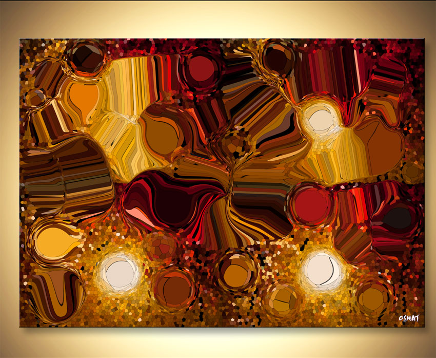 modern abstract art - Light and Color