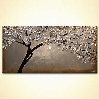 Giclee print - Silver Blossom