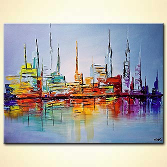 Giclee print - City Lights