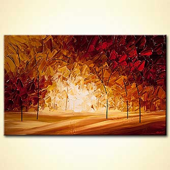 modern abstract art - Indian Summer