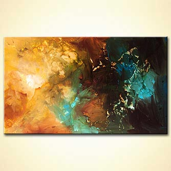 Abstract painting - Into the Light