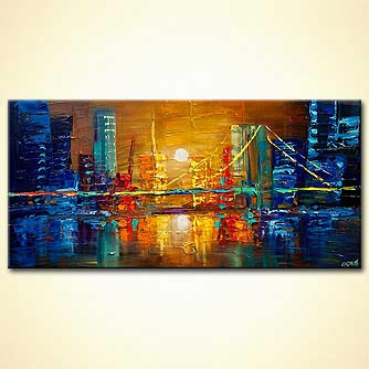 canvas print - The Bridge