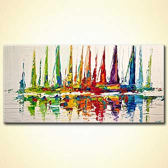 Giclee print - October Sail
