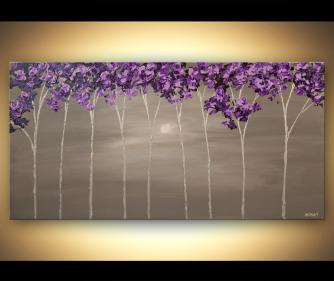 canvas print - Purple Scent
