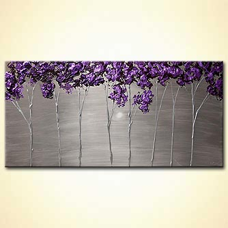 Landscape painting - Purple Scent
