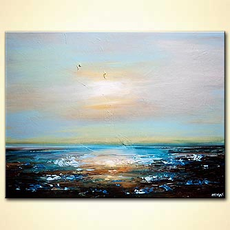Seascape painting - Freedom