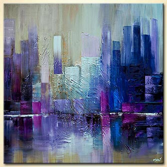 modern abstract art - City