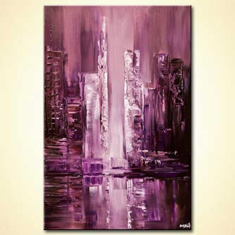 canvas print - City Reflection