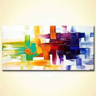 Abstract painting - The Message