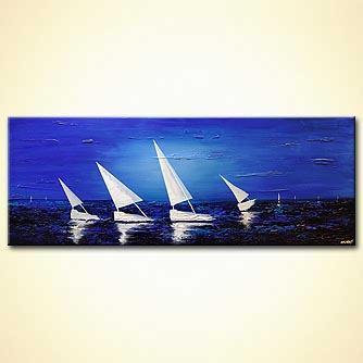 Seascape painting - Sea Diamonds