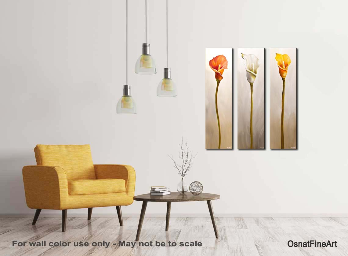 Painting Calla Lily Flowes Home Decor Floral Art 7627 Home Decorators Catalog Best Ideas of Home Decor and Design [homedecoratorscatalog.us]