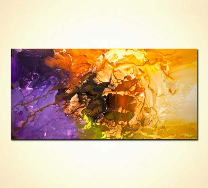 Painting For Sale Original Colorful Abstract Painting Home Decor