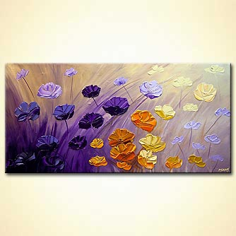 canvas print - The Garden