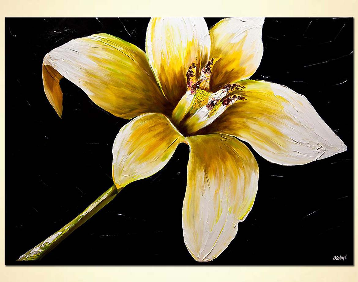 Painting For Sale Jasmine Flower Painting 7819