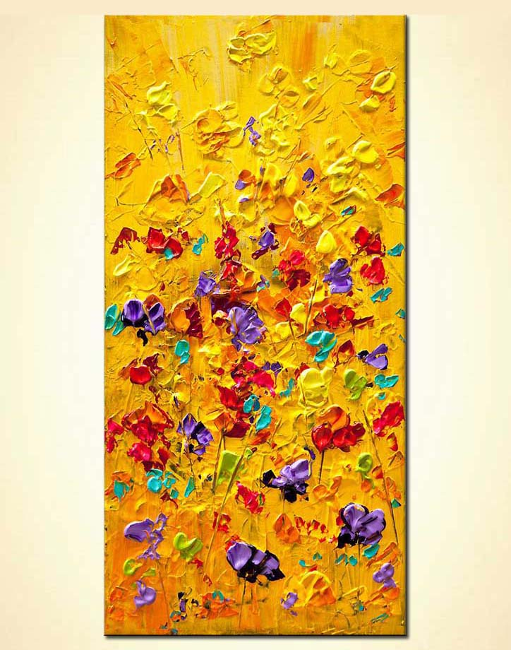 modern abstract art - Yellow