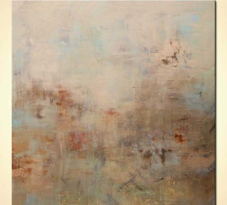 Painting - calm soft abstract art modern art #7866
