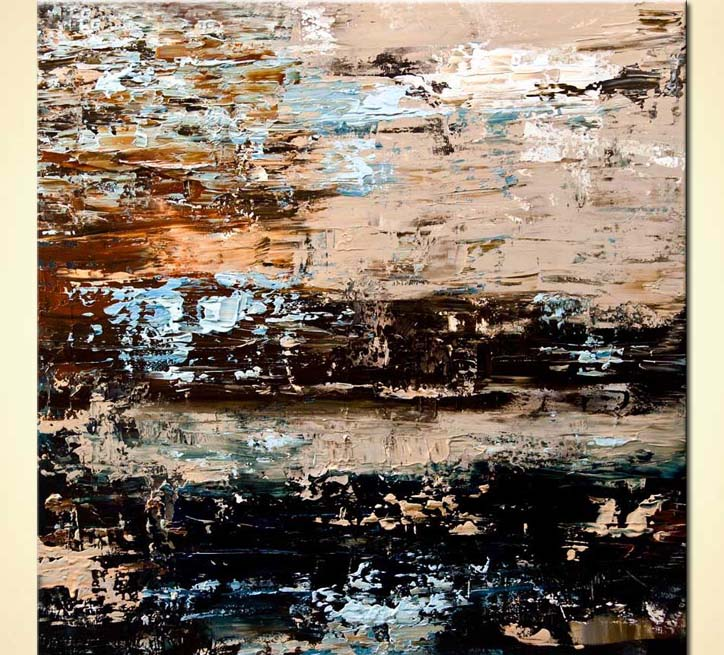 modern abstract art - Rust
