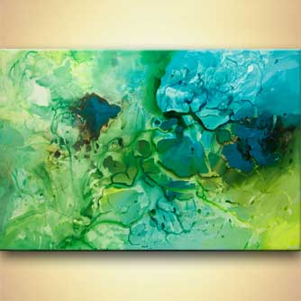 Giclee print - The Green Planet