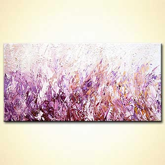 modern abstract art - Lavender Scent