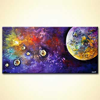 Giclee print - Birth of a Planet
