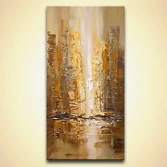 Cityscape painting - On the Streets