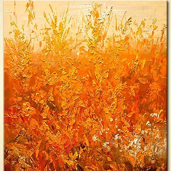 Floral painting - Orange Blossom