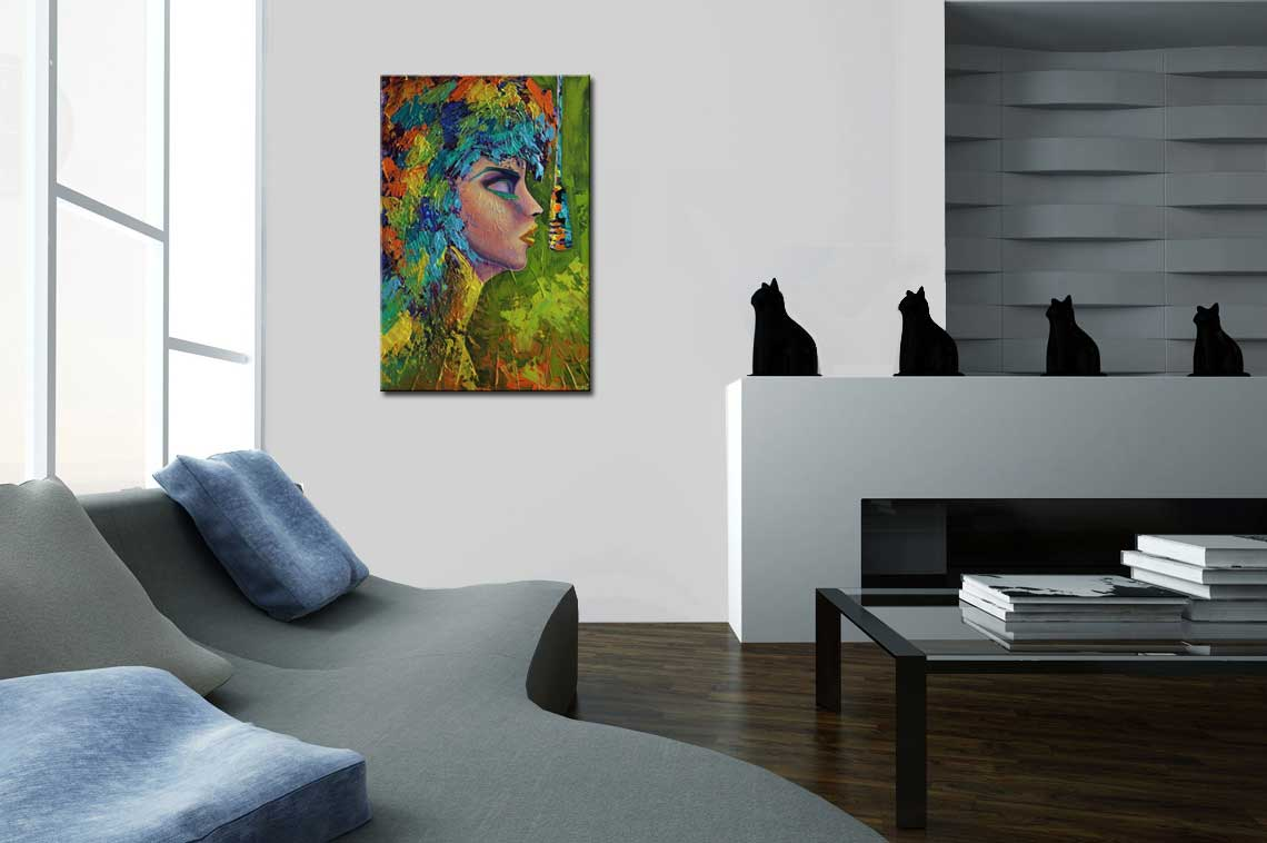 Painting For Sale Rock And Roll Painting Colorful