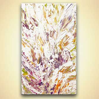 modern abstract art - Blossom