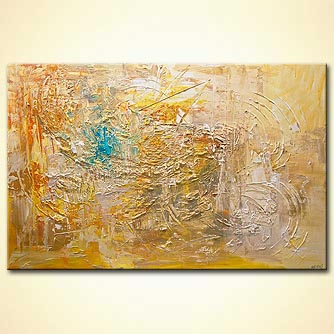 huge textured abstract art