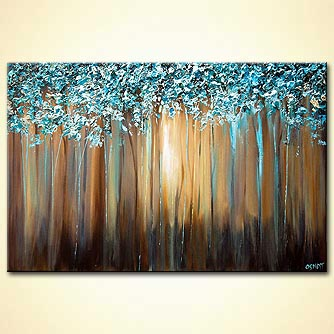 Forest painting - Paradise