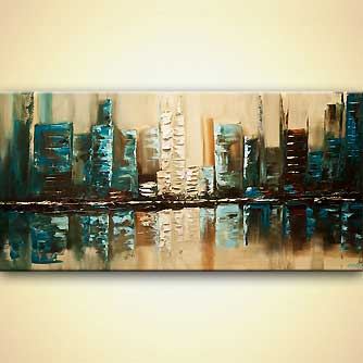 Cityscape painting - City of Helios