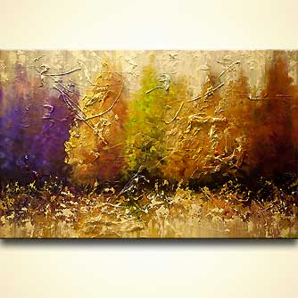 Forest painting - Five Seasons