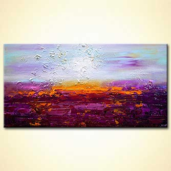 Giclee print - Sunset on Jericho