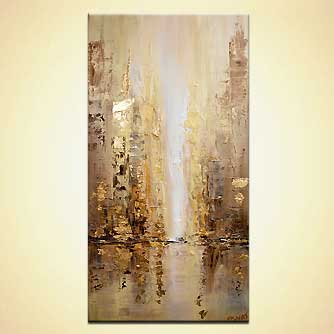 canvas print - Golden City