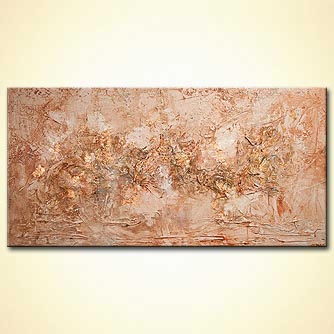 Abstract painting - The Copper Mines