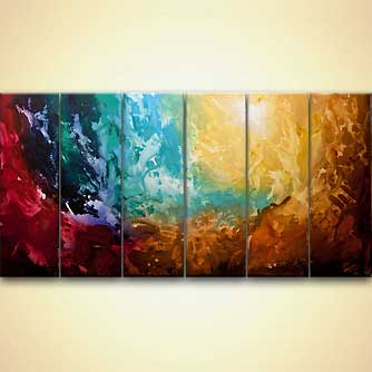 Abstract painting - Apollo 5