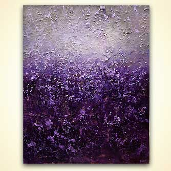 canvas print - Purple Haze