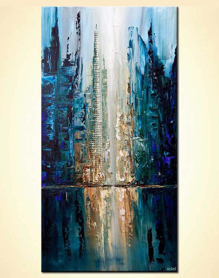 modern abstract art - City of Angels