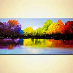 blooming trees paintings