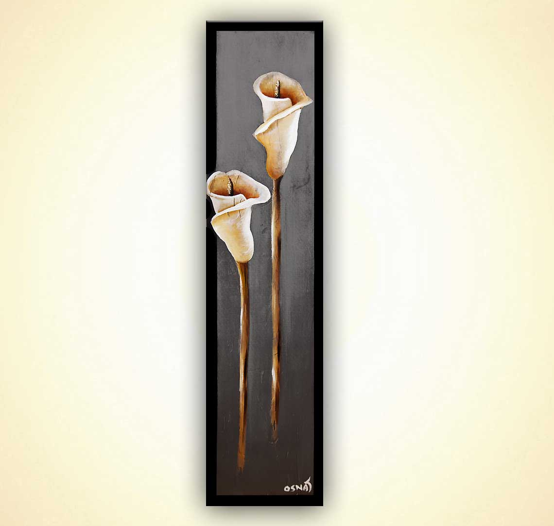 modern abstract art - Calla Lily