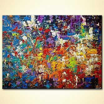 canvas print - 20 Millions Things To Do